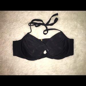 Black Bikini Top (Victoria's Secret)